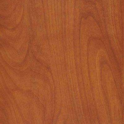 2 in. x 3 in. Laminate Countertop Sample in Wild Cherry with Standard Matte Finish