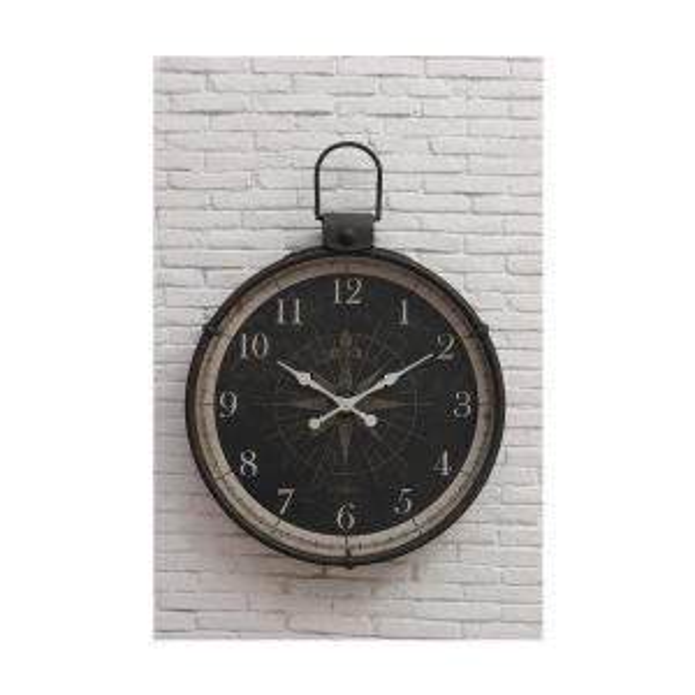 3R Studios Compass Round Wall Clock by 3R Studios