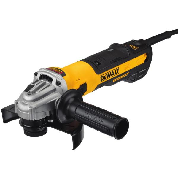 13-Amp Corded 5 in. to 6 in. Brushless Angle Grinder with Paddle Switch