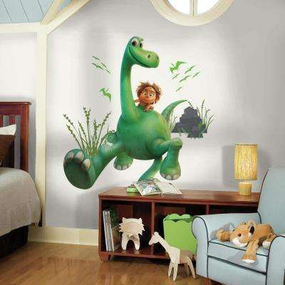 5 in. W x 19 in. H Arlo the Good Dinosaur Peel and Stick Giant Wall Decal