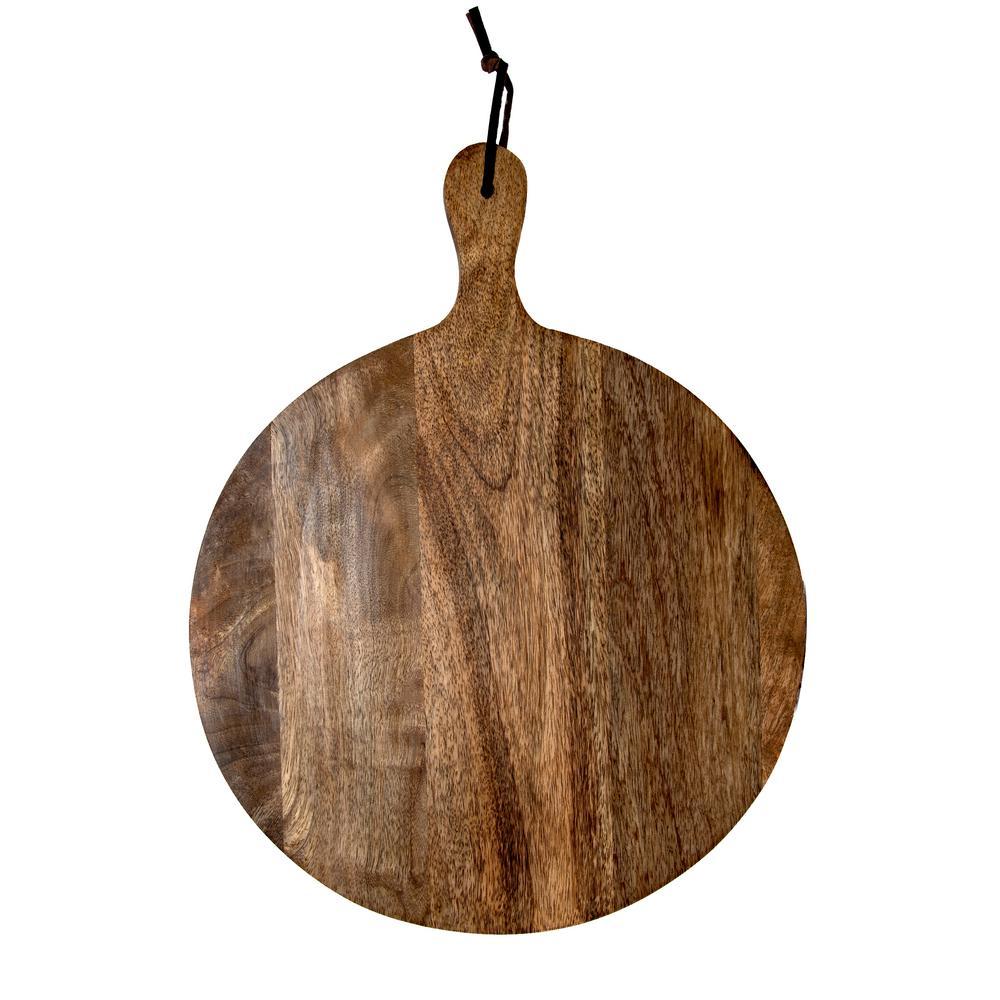Artisan Wood - Farmhouse Natural Decorative Serving Board