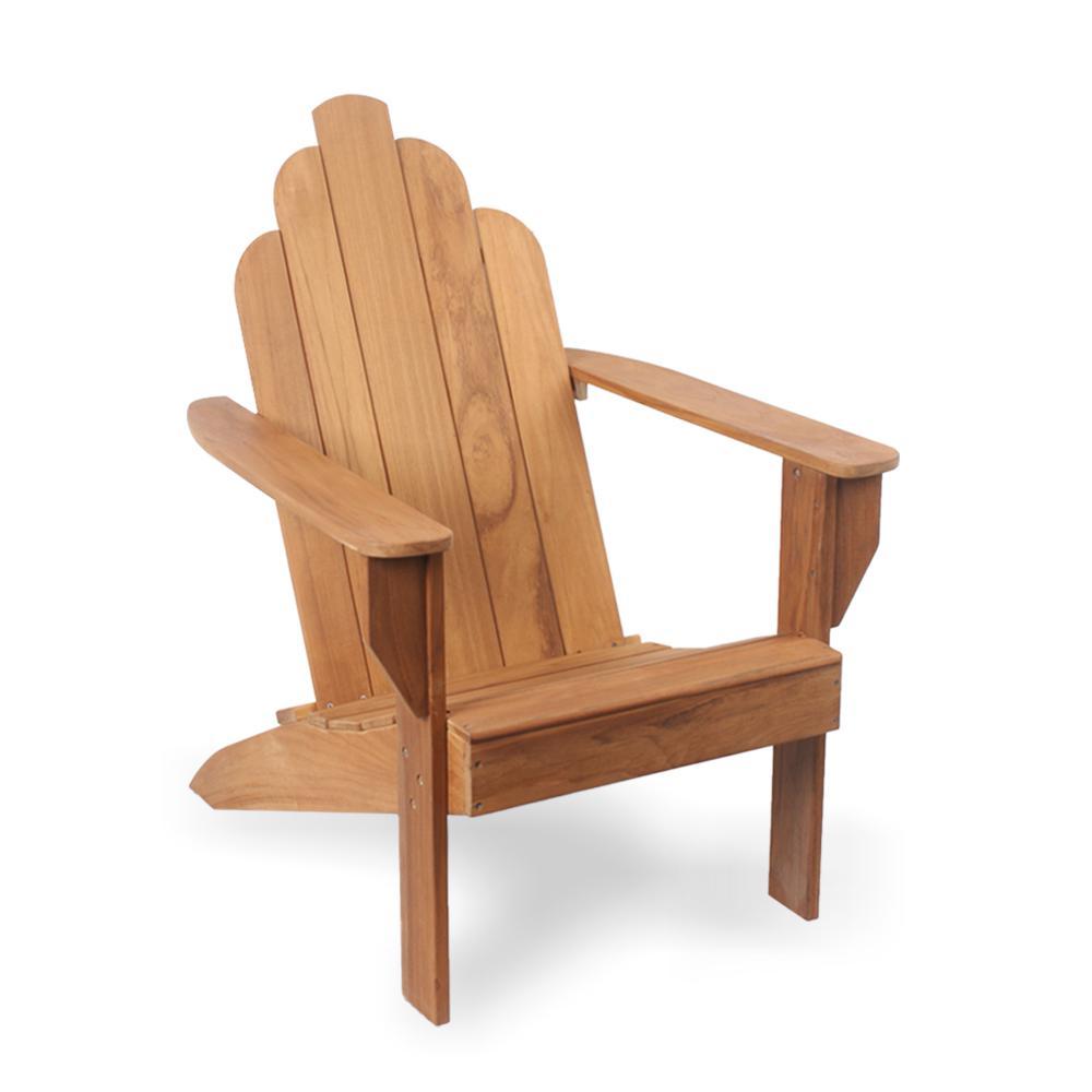 Heaton Teak Wood Adirondack Chair