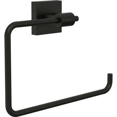 Maxted Towel Ring in Flat Black
