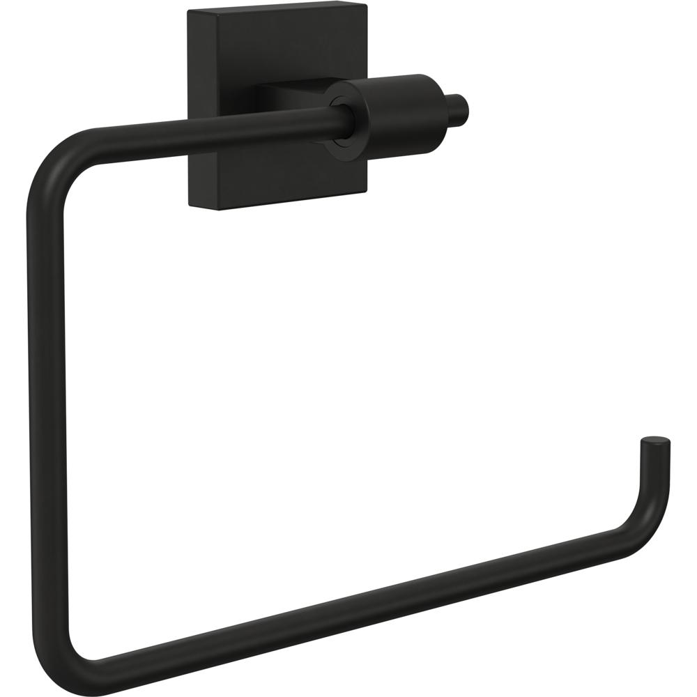 Franklin Brass Maxted Towel Ring in Matte Black
