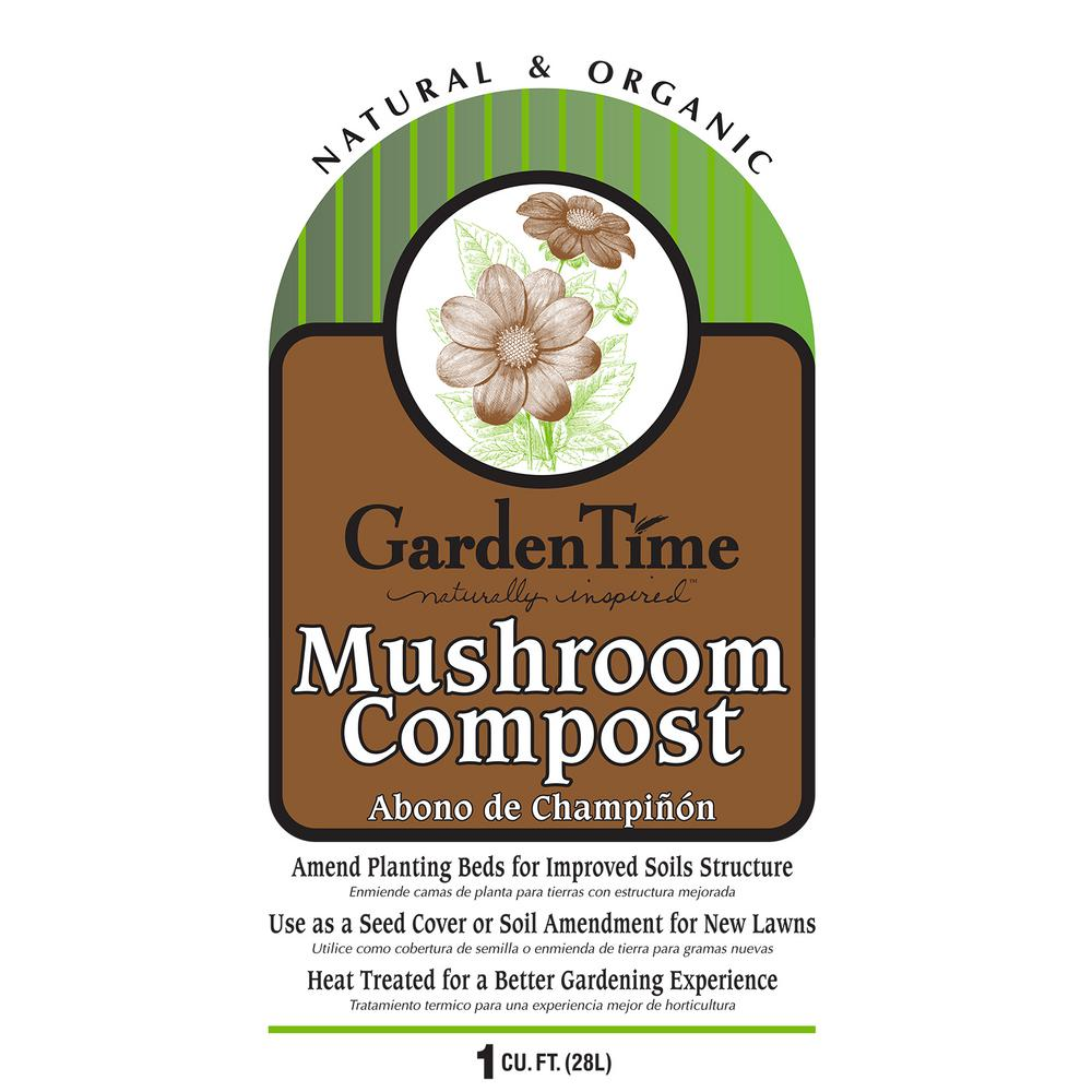 1 cu. ft. Garden Time Mushroom Compost-GT 13040 - The Home Depot
