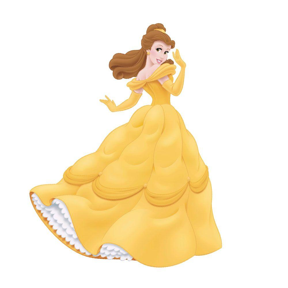 RoomMates Disney Princess Belle Peel and Stick Giant Wall Decal