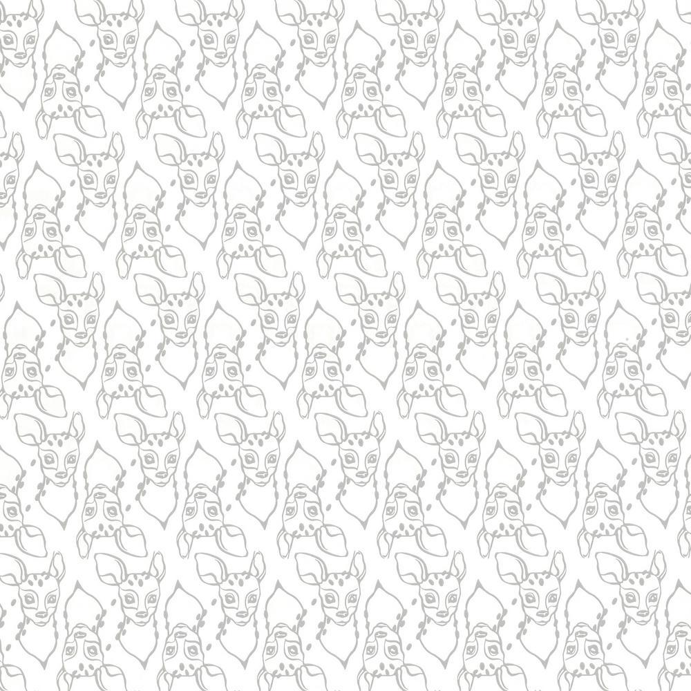 Oh, Deer White Animal Wallpaper