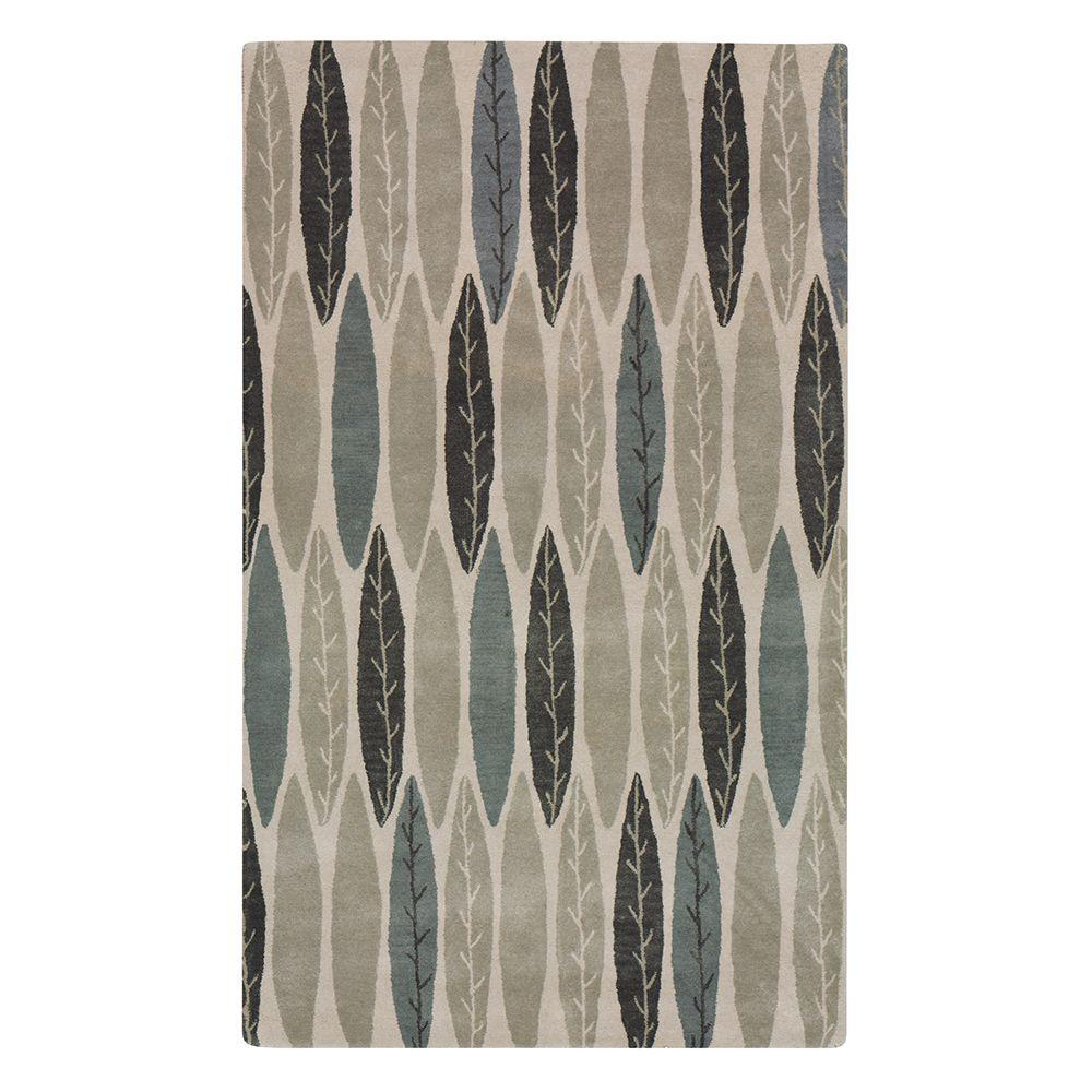 Home Decorators Collection Feather Grey 2 ft. x 3 ft. Area Rug