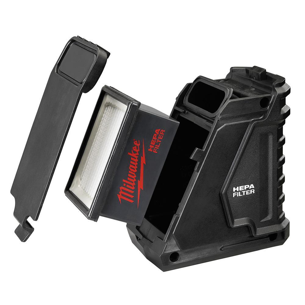 Milwaukee M12 HEPA Dust Box and Filter Kit