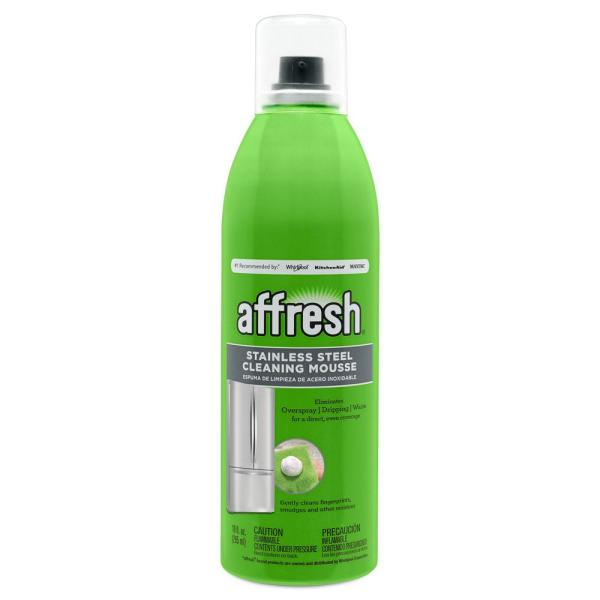 affresh Stainless Steel Mousse