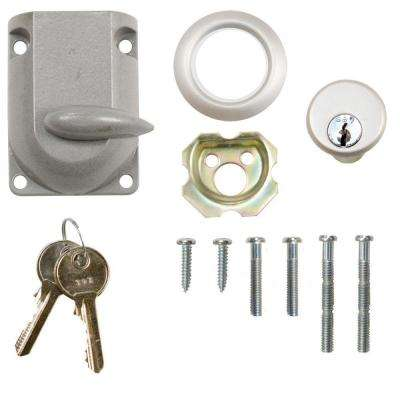 Garage Door Dead-Bolt Lock with Cylinder