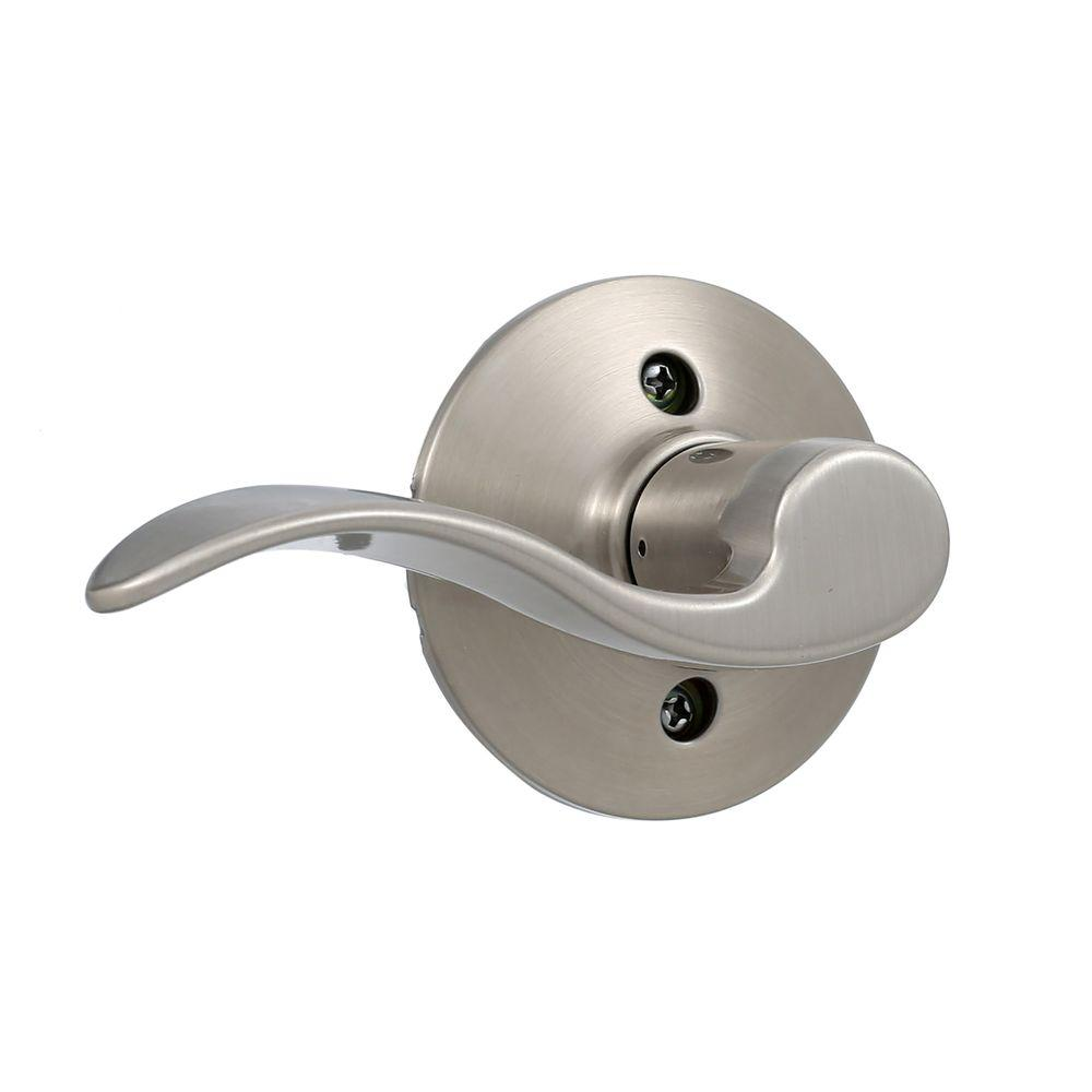Delicieux Schlage Accent Satin Nickel Dummy Door Lever