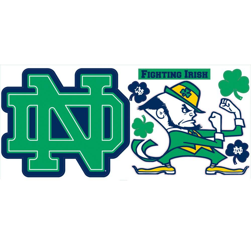 RoomMates University of Notre Dame Giant Peel and Stick Wall Decals-DISCONTINUED