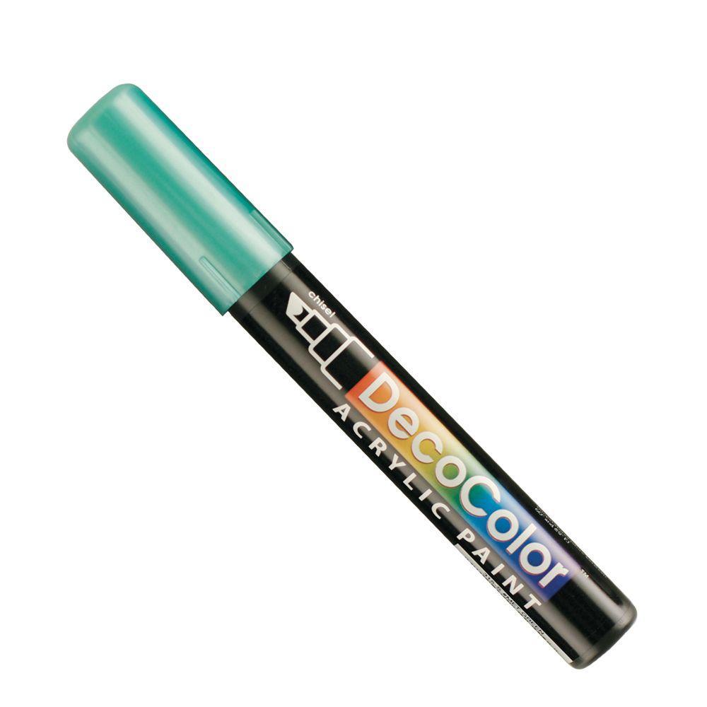 Marvy Uchida DecoColor Metallic Green Acrylic Paint Marker