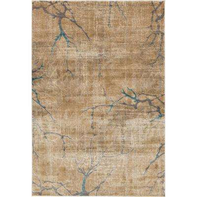 Aurora Light Brown 6 X 9 Rug