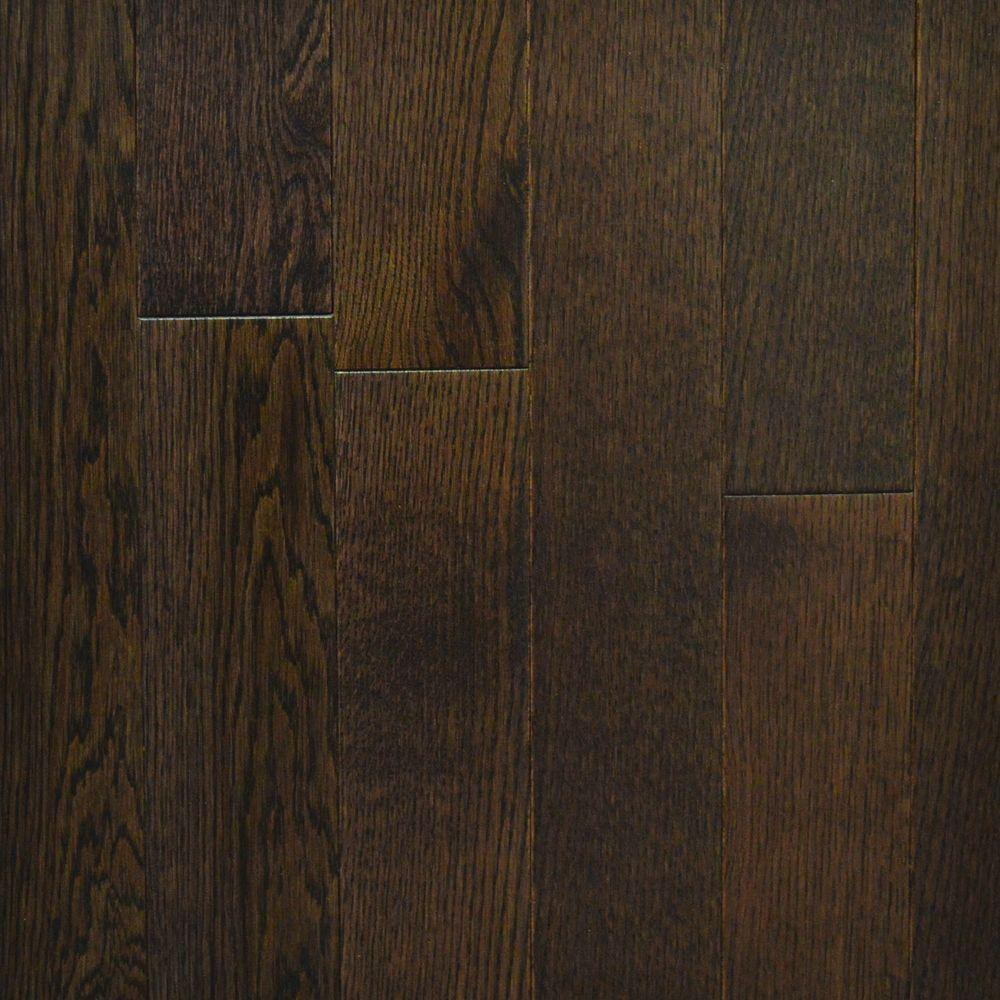 Urban Grey Red Oak Canadian 3/4 in. Thick x 3-1/4 in.