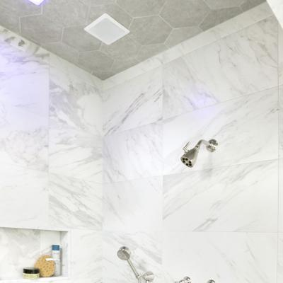 Traffic Hex Silver 8-5/8 in. x 9-7/8 in. Porcelain Floor and Wall Tile (11.56 sq. ft. / case)