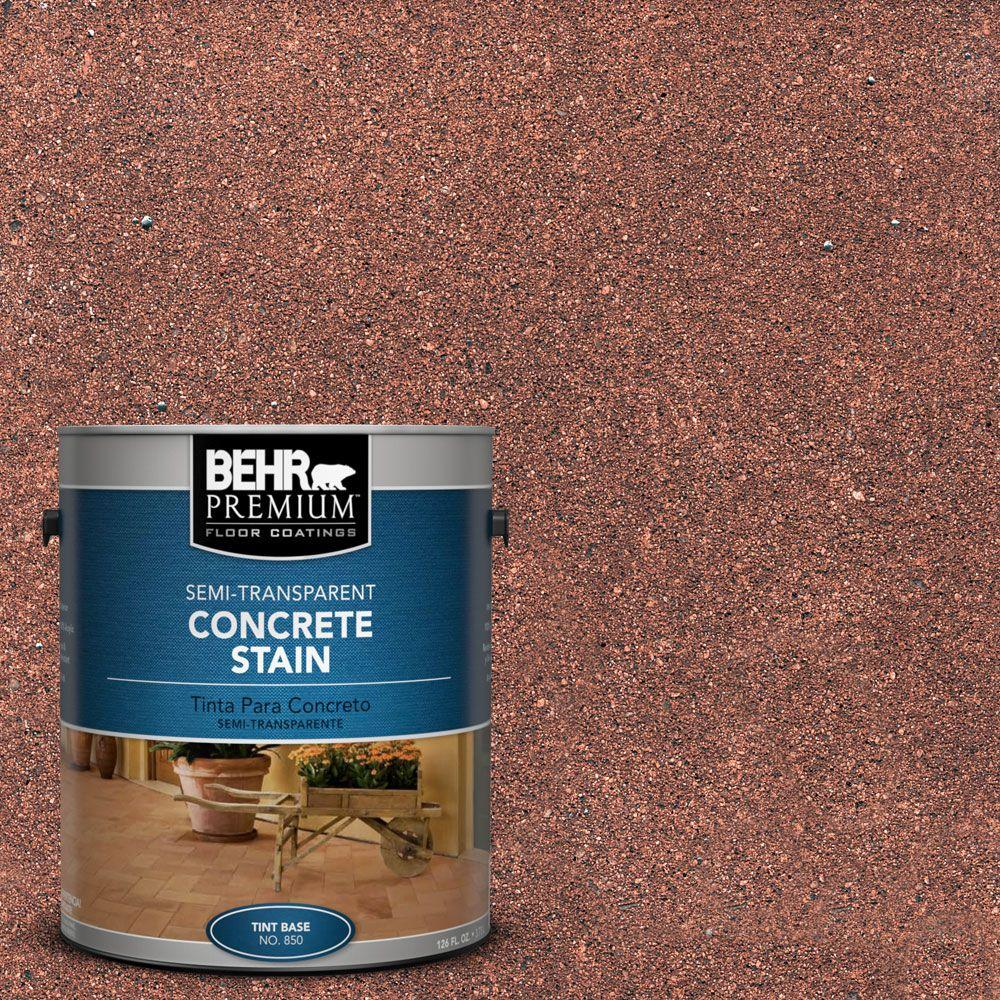 BEHR Premium 1 gal. #STC-32 Chicory Semi-Transparent Concrete Stain