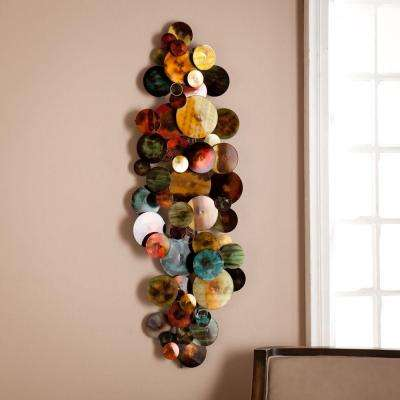 47.75 in. W x 15.75 in. H Cammie Metal Wall Sculpture