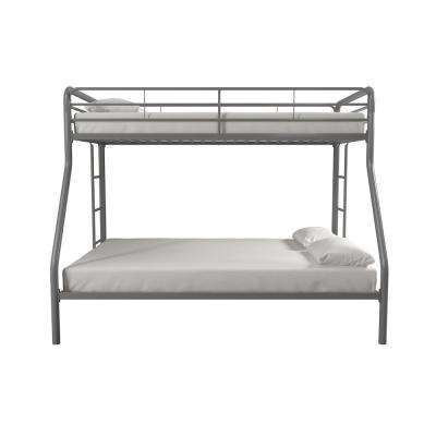 Cindy Silver Twin over Full Metal Bunk Bed