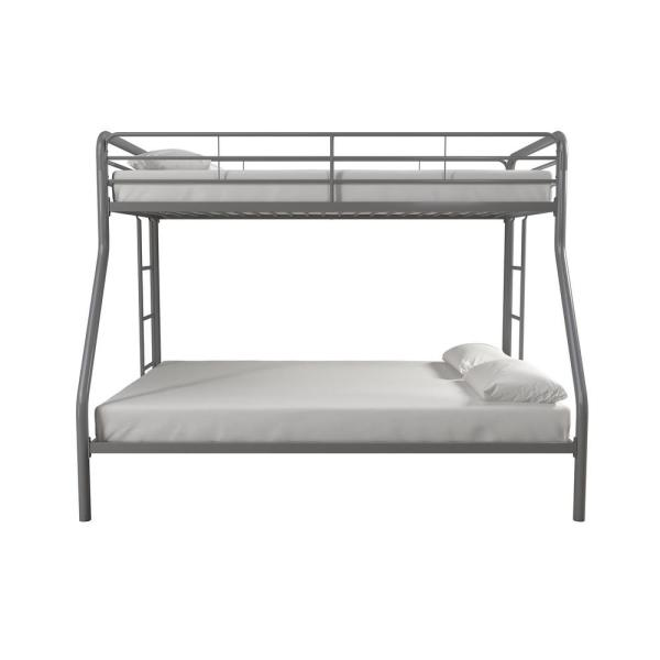 Dhp twin over full metal bunk bed frame instructions