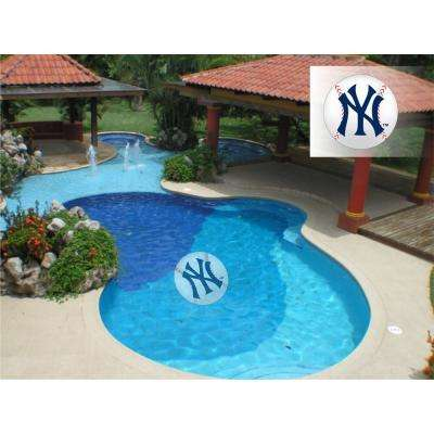 MLB New York Yankees 29 in. x 29 in. Small Pool Graphic