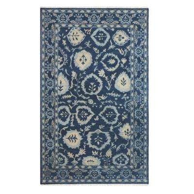 Priory Indigo 8 ft. x 10 ft. Area Rug