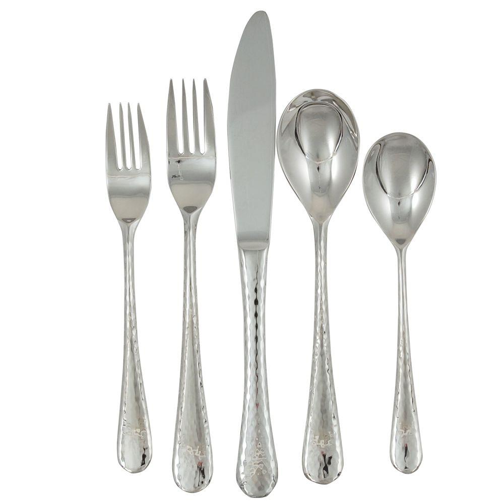 Ginkgo Shimmer 20-Piece Service for 4