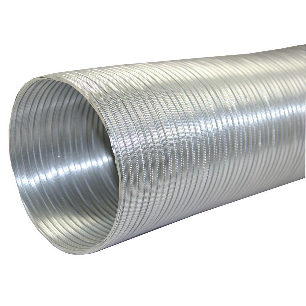 Speedi Products 6 In X 96 In Round Aluminum Flex Pipe Ex Af 696