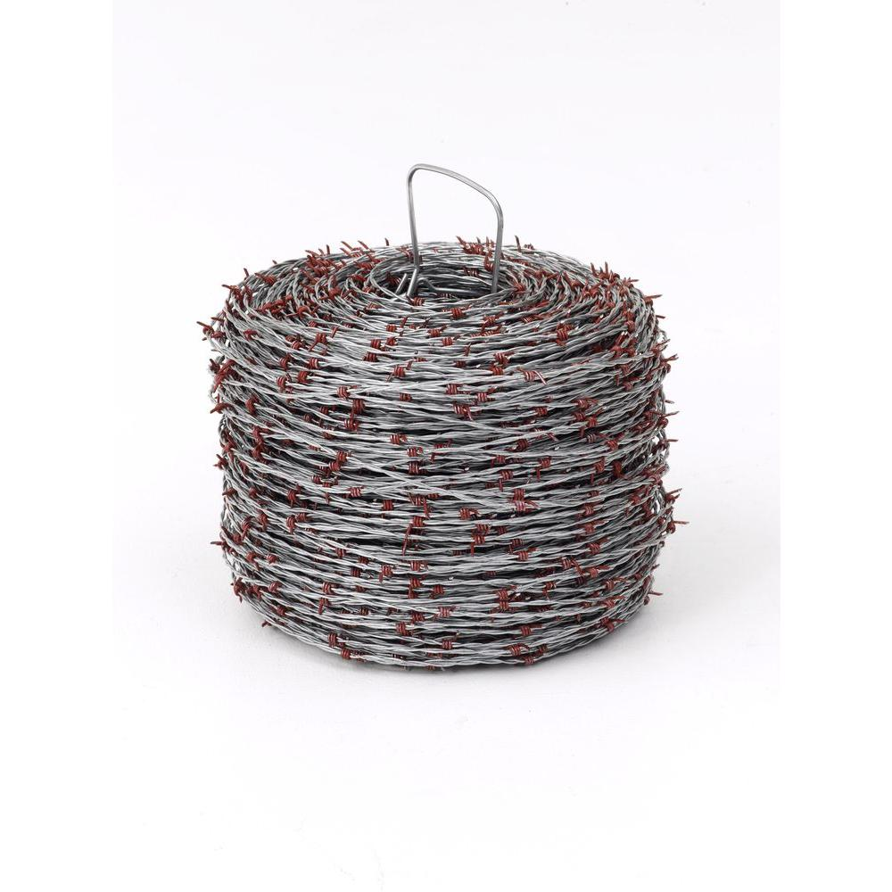 Red Brand 1 in. x 1,320 ft. Barb Wire-85566 - The Home Depot