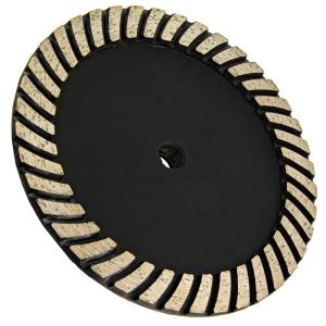 Click here to buy Archer USA 7 inch x 5/8 in.-11 Thread Coarse Grit Turbo Diamond Grinding Wheel for Stone Grinding by Archer USA.