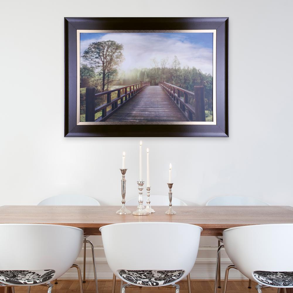30.50 in. x 43.50 in. Dreams, Framed Printed Paper Wall Art-N3101B ...