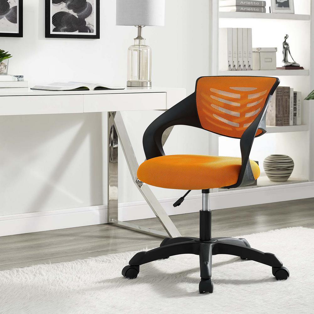 MODWAY Thrive Mesh Office Chair in Orange EEI-3041-ORA