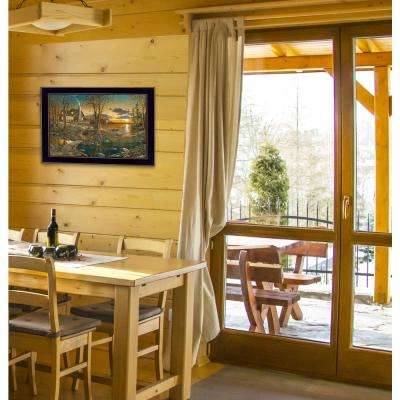 "14 in. x 20 in. ""Comforts of Home"" by Jim Hansen, Printed Framed Wall Art"