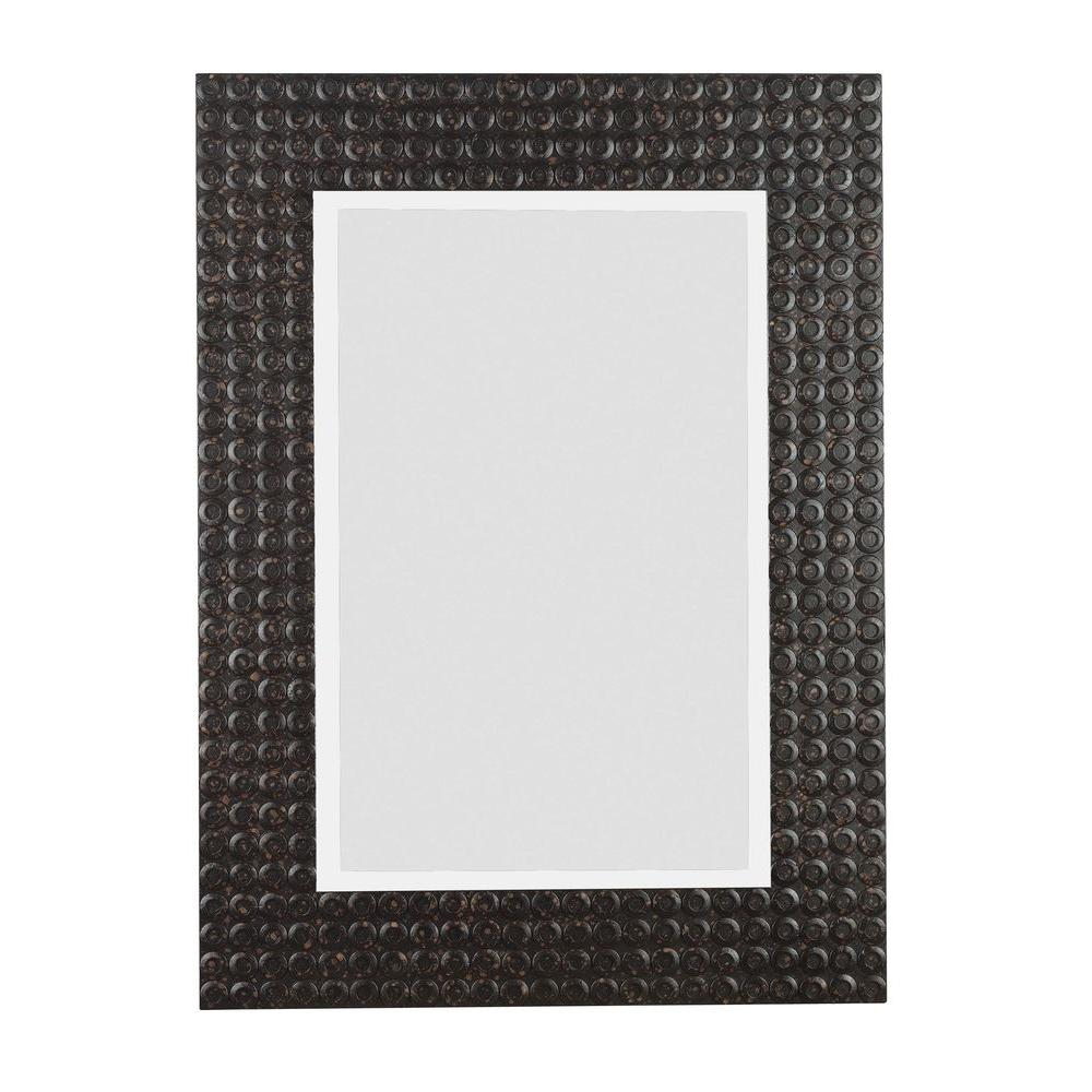 Home Decorators Collection Murphy 38 in. H x 28 in. W Wood Framed Mirror