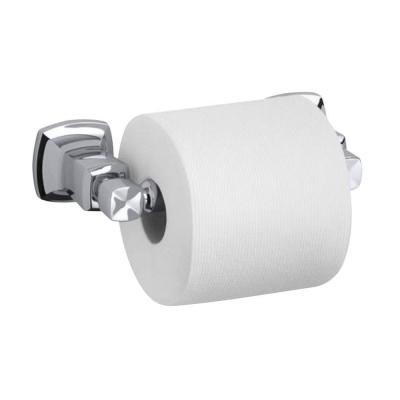 Margaux Single Post Toilet Paper Holder in Polished Chrome
