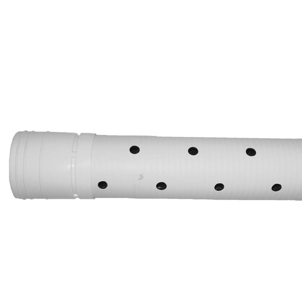 4 in. x 10 ft. 2 Hole Triplewall Pipe
