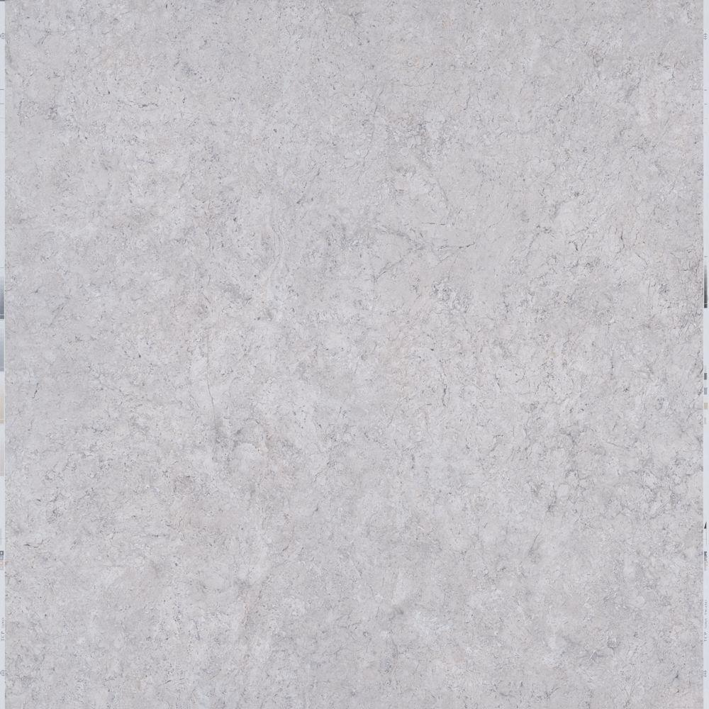 Trafficmaster White Fossil 18 In X L And Stick Vinyl Tile