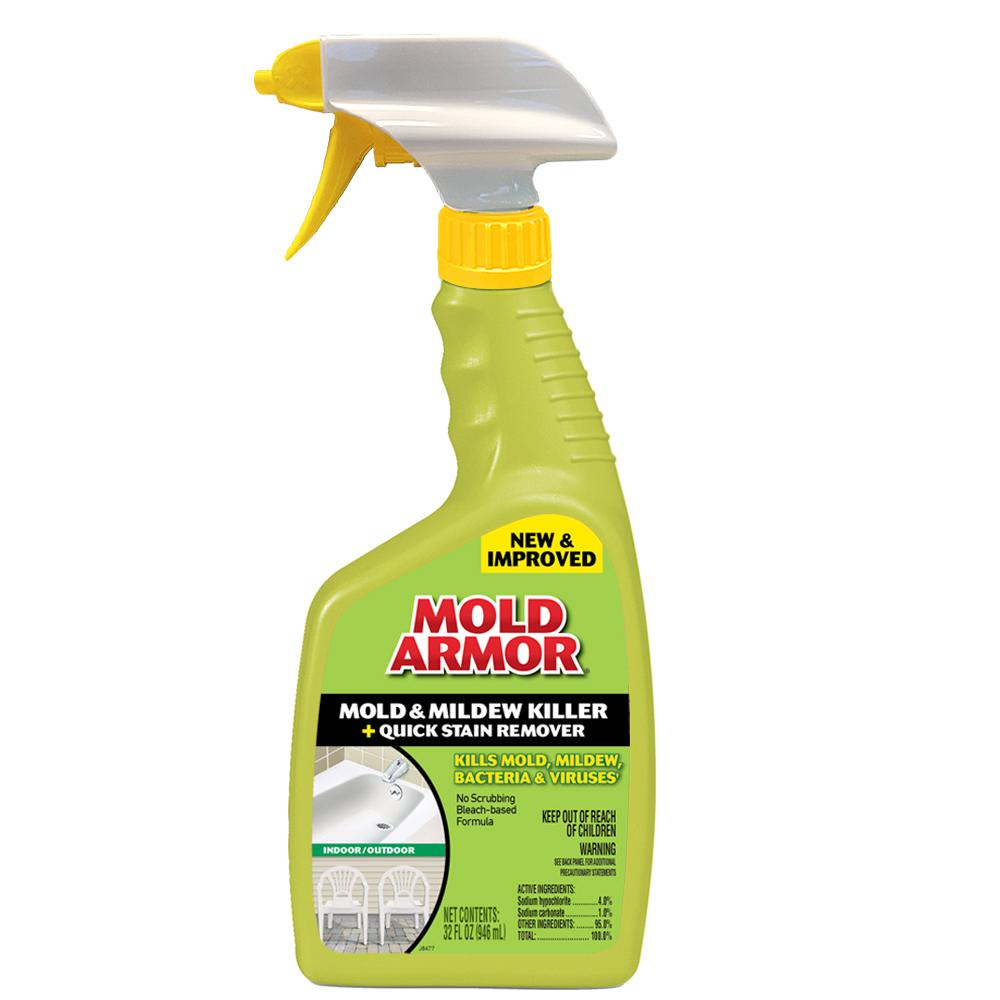 MoldArmor Mold Armor 32 oz. Mold and Mildew Killer with Quick Stain Remover