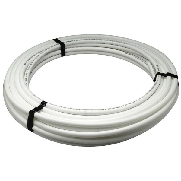 1 in x 300 ft White Pex Non-Barrier Tubing