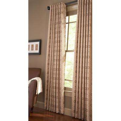 Pageant Light Filtering Window Panel in Nutshell - 50 in. W x 84 in. L