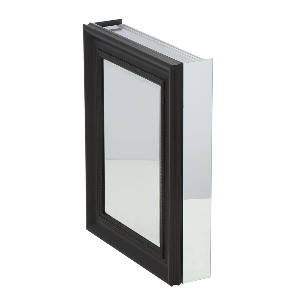 Pegasus 20 in. x 26 in. Framed Recessed or Surface-Mount Bathroom ...