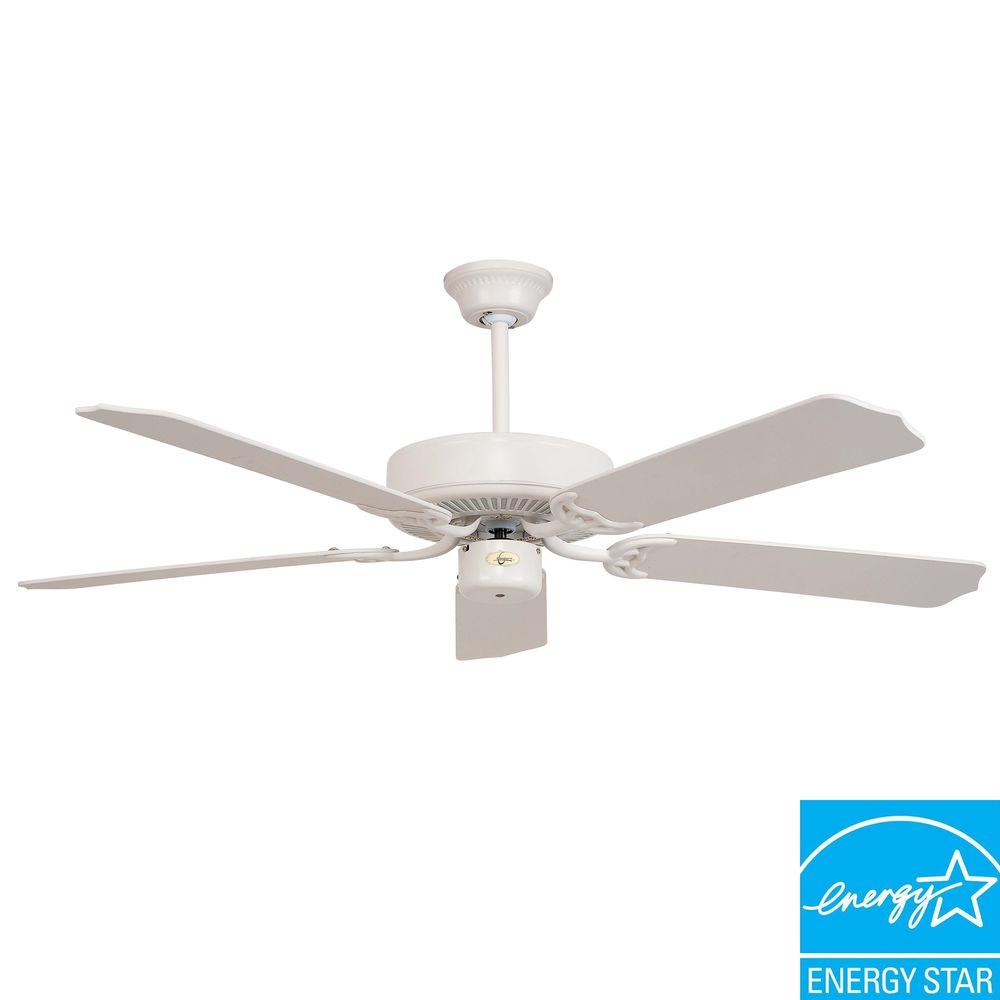 Illumine Non-Light Ceiling Fan Swiss Coffee-DISCONTINUED
