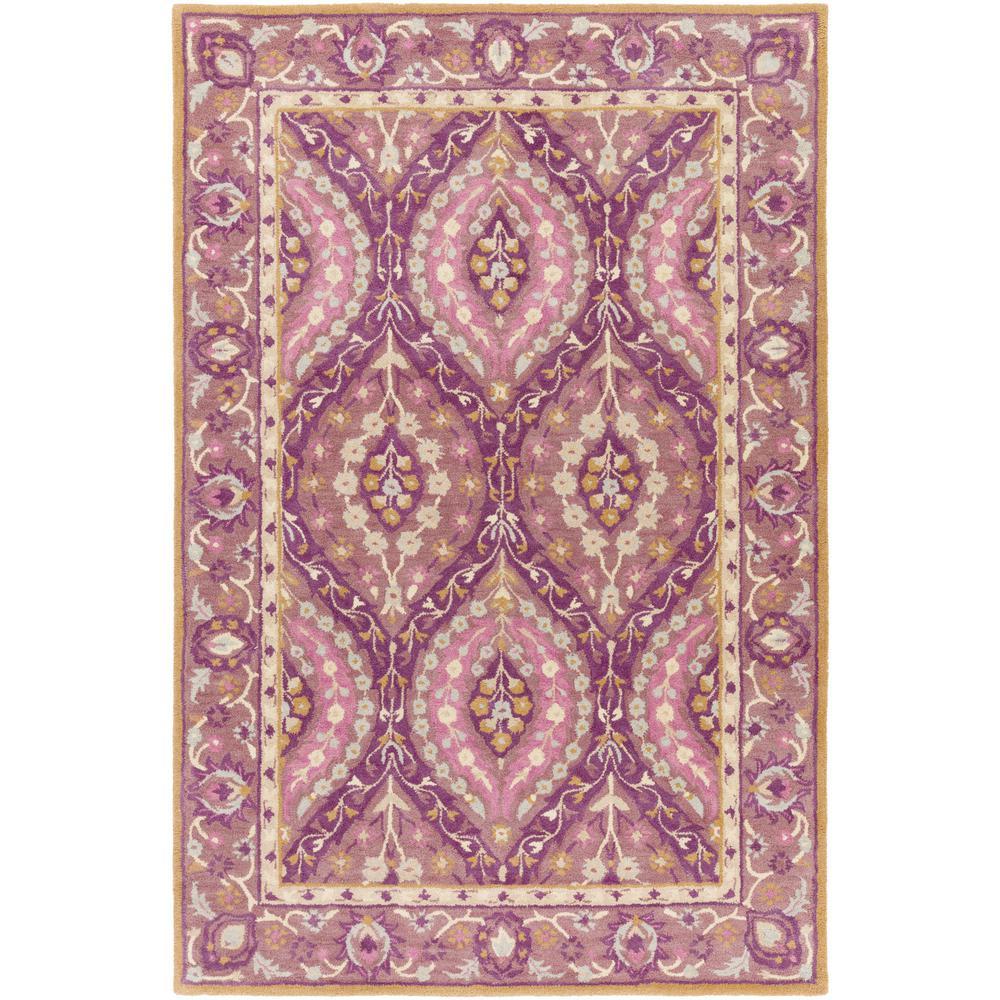 Dark Purple Rugs: Artistic Weavers Mauritius Dark Purple 4 Ft. X 6 Ft