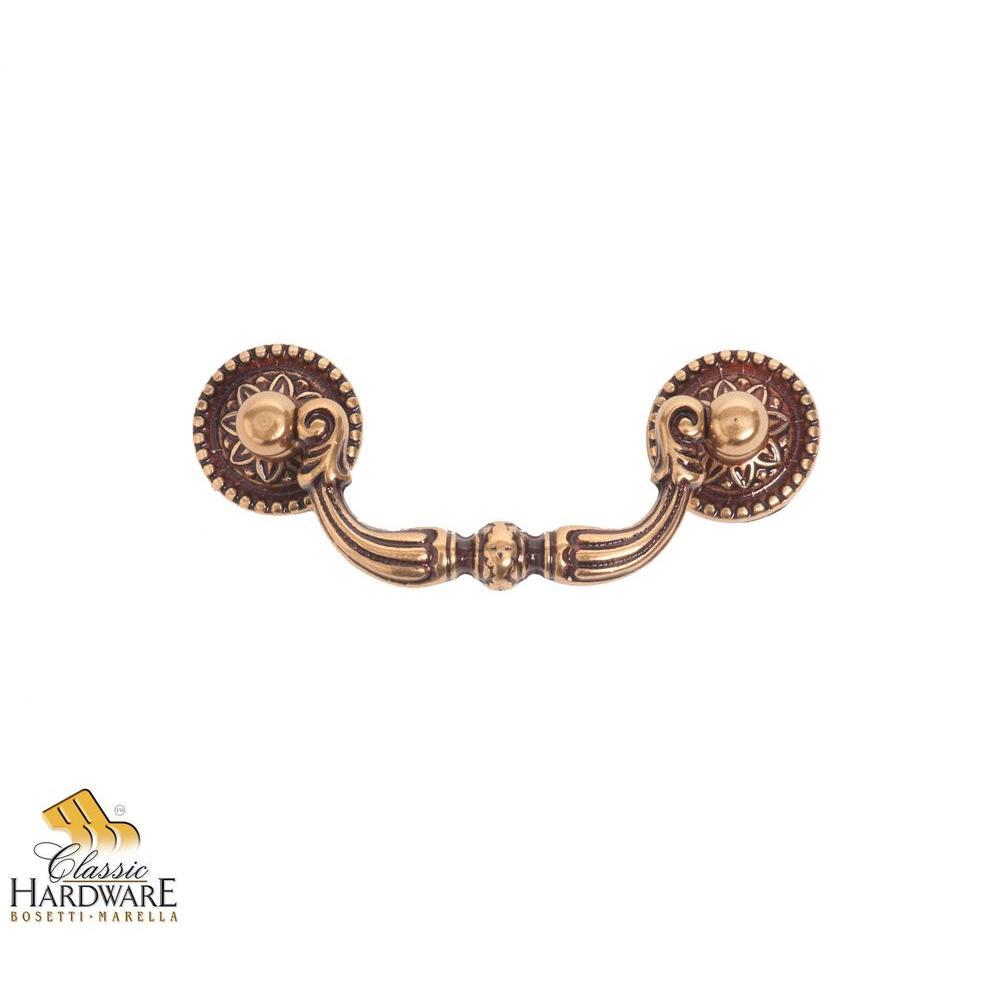 Bosetti Marella Louis XVI 3.39 in. French Antique Gold Dr...