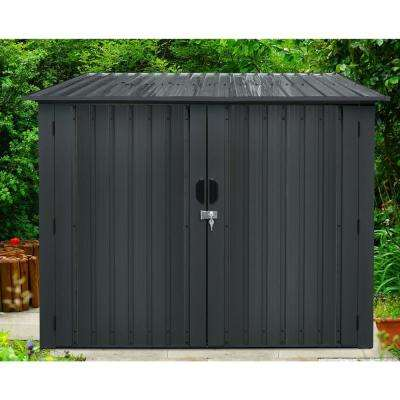 Galvanized Steel Bicycle Storage Shed