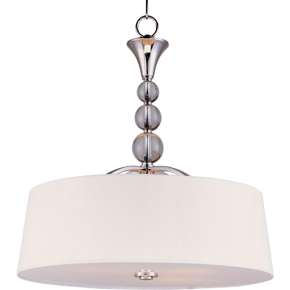 Maxim Lighting Rondo 4-Light Polished Nickel Pendant