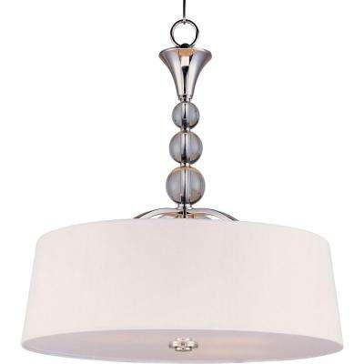 Rondo 4-Light Polished Nickel Pendant
