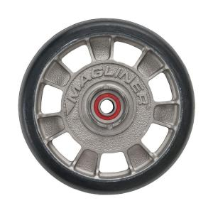 Magliner 8 inch x 1-5/8 inch Hand Truck Wheel Mold-On Rubber with Sealed Semi-Precision Bearings by Magliner