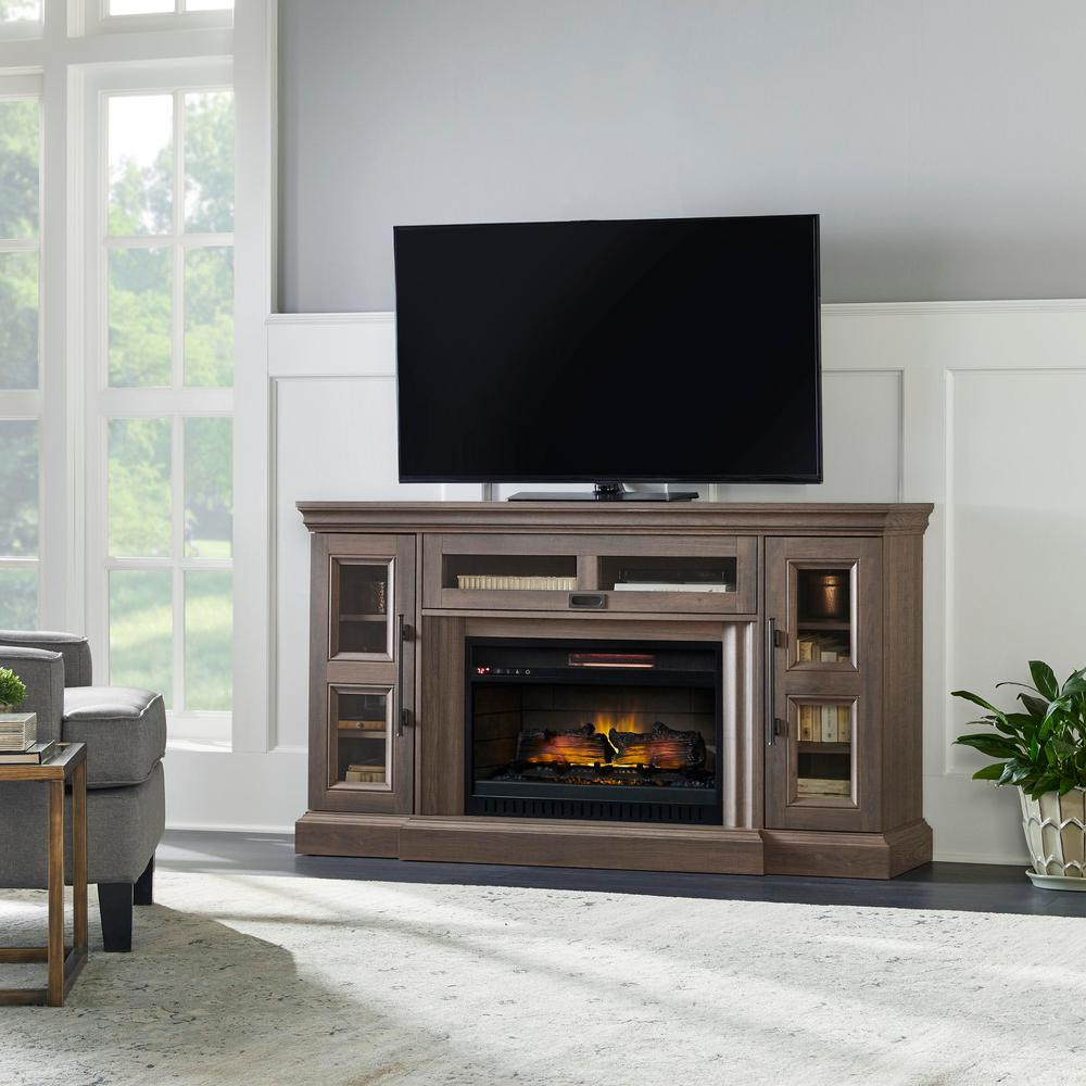 Home Decorators Collection Abigail 60 In Media Console Infrared